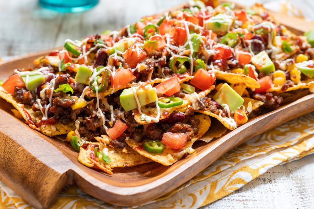 Recetas de cocina nachos mexicanos