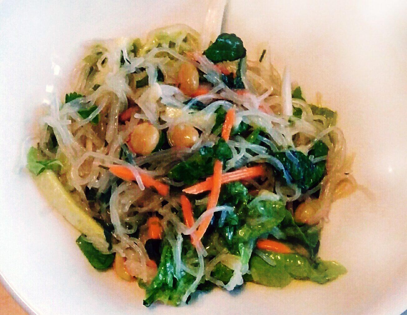 Receta de ensalada de fideos de arroz mercado flotante - Ensalada de arroz light ...